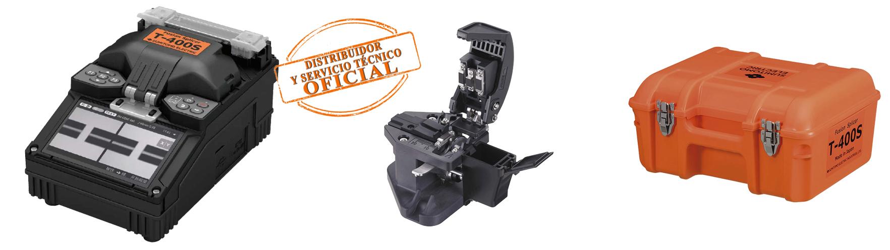 Kit Fusionadora T400 Fibercom sello