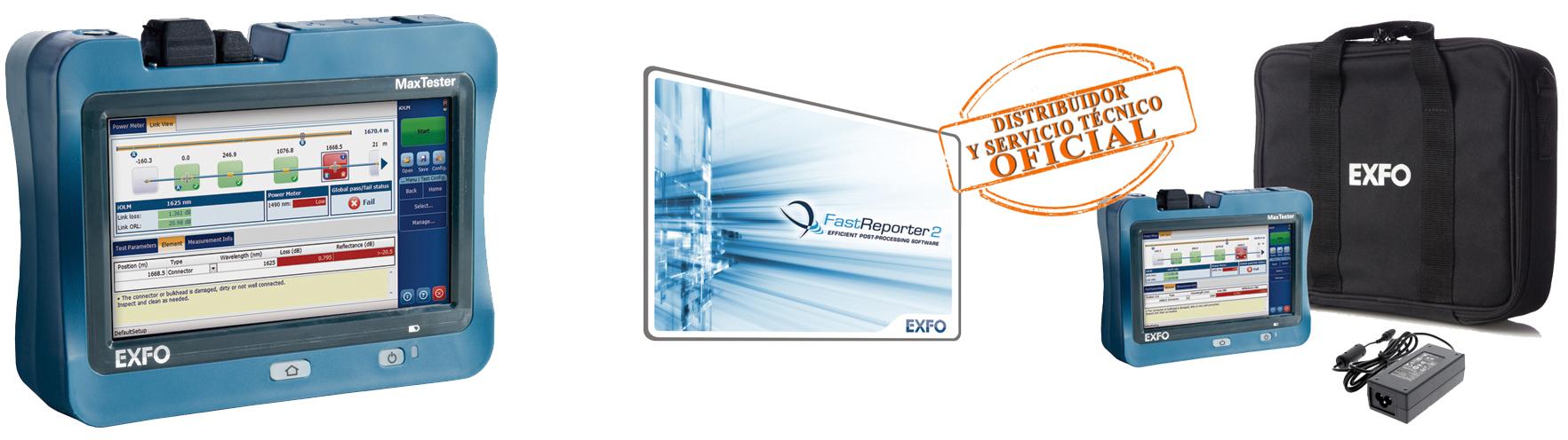 Kit OTDR EXFO Fibercom sello
