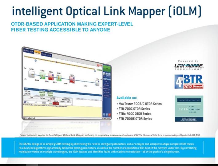 intelligent optical link mapper