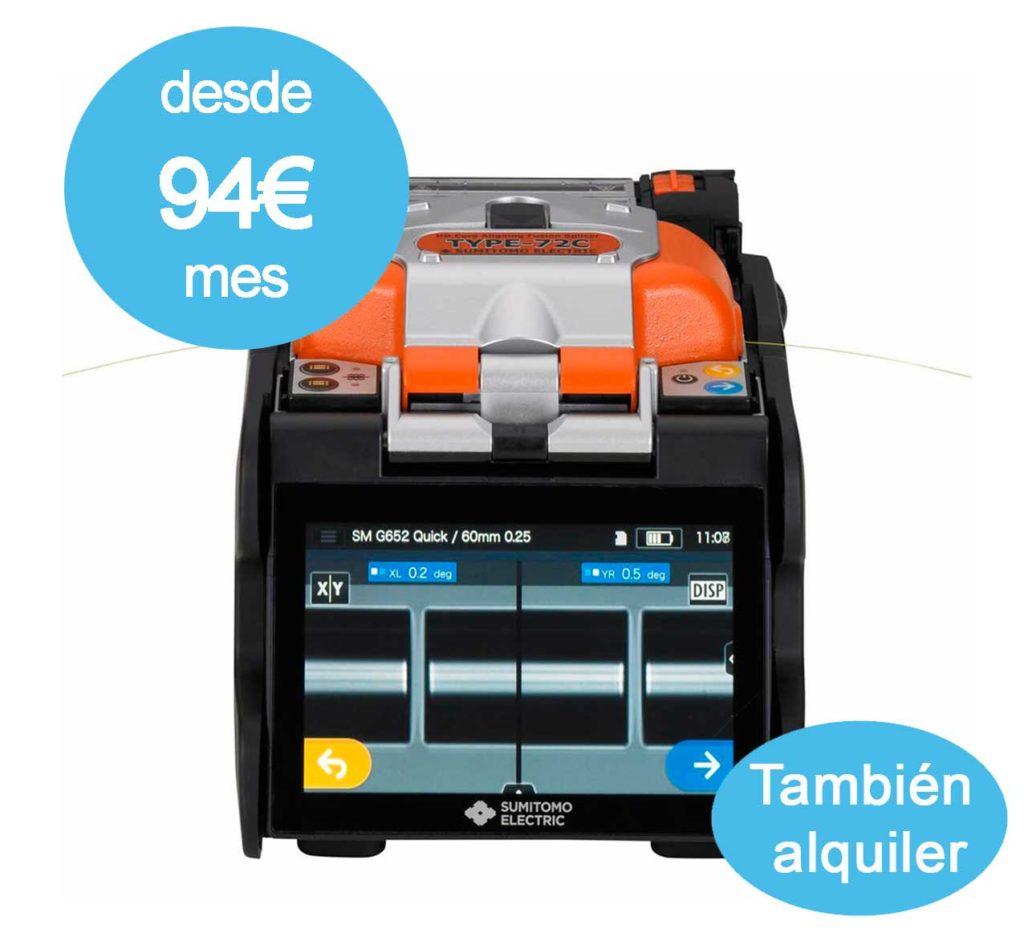 Fusionadora T72C precio
