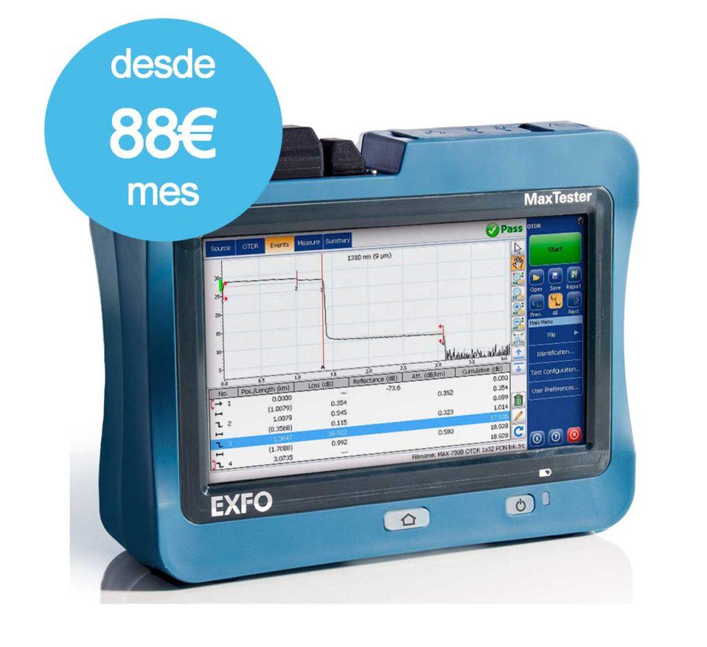 OTDR M730sm6 DESDE 88euros