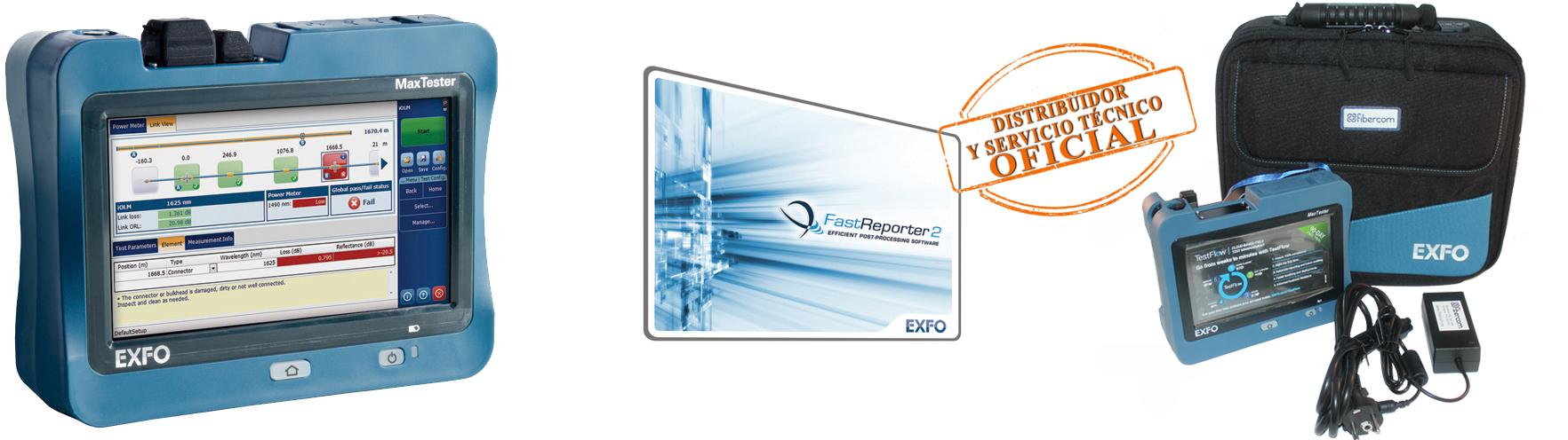 Kit_OTDR_EXFO_Fibercom_2020